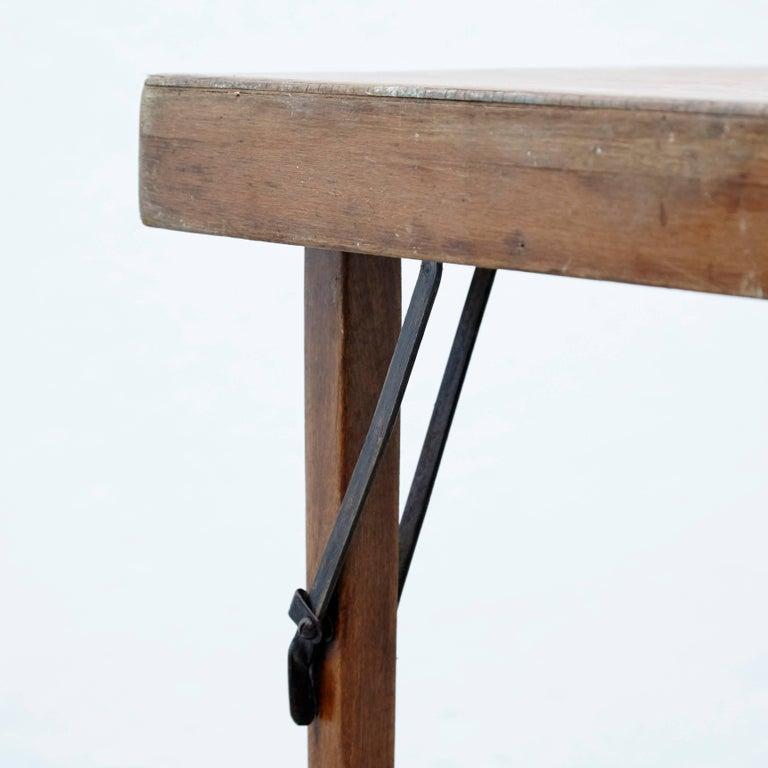 Wood Thonet Folding Table T211