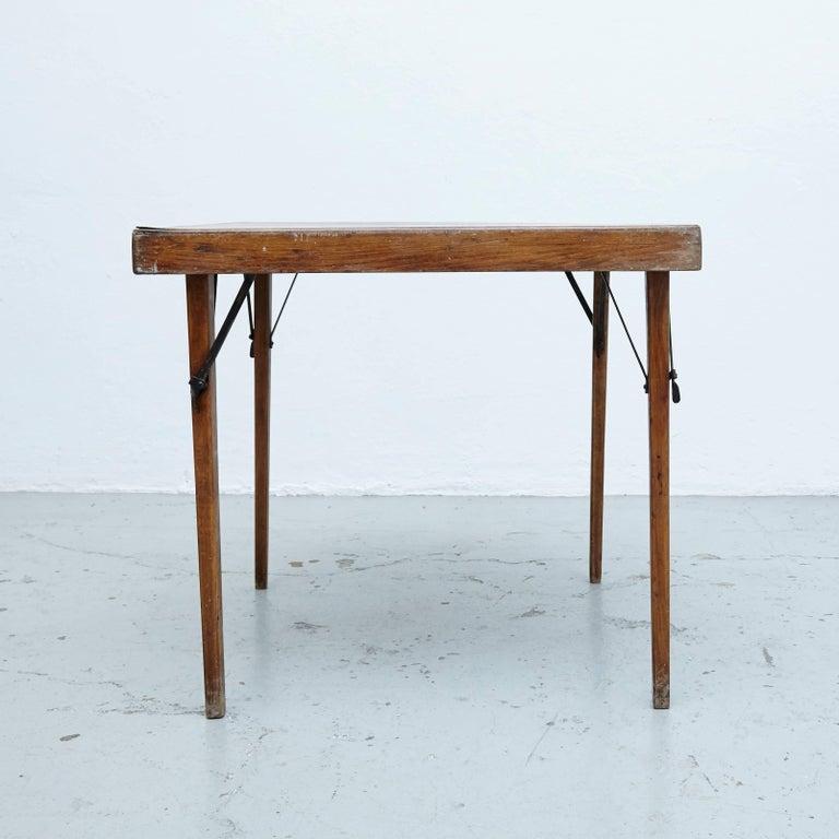 Mid-Century Modern Thonet Folding Table T211