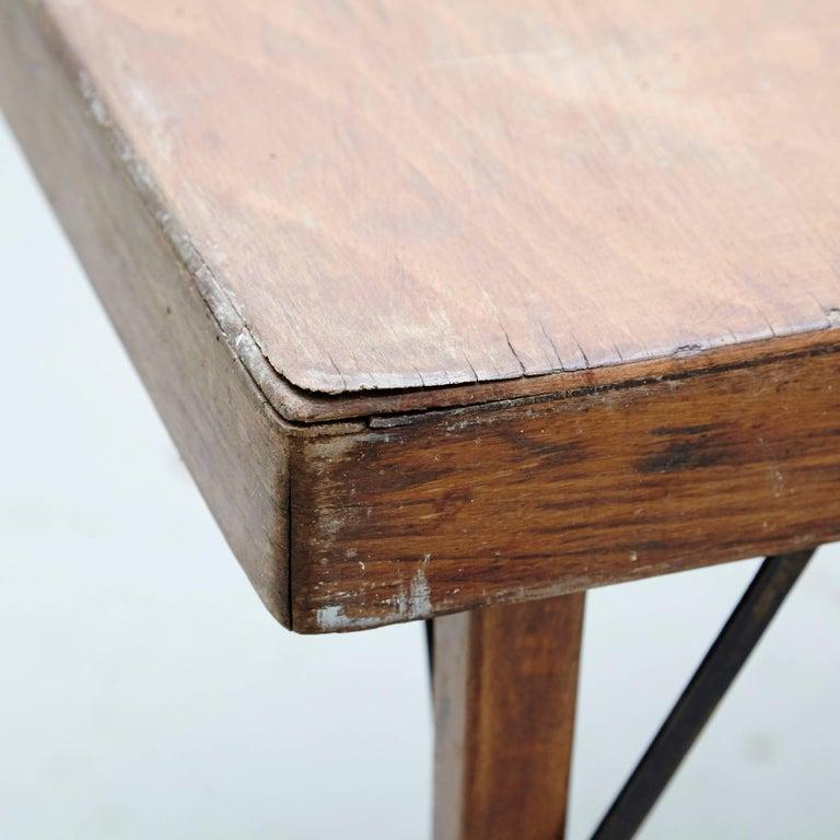 German Thonet Folding Table T211