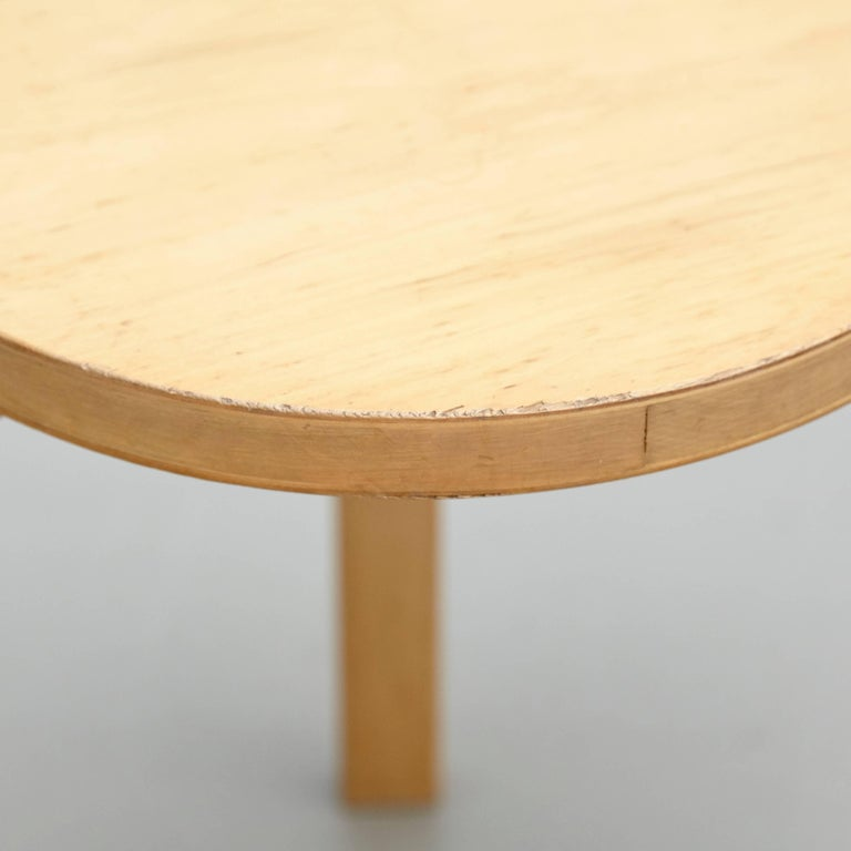 Mid-20th Century Alvar Aalto Stool, circa 1960 For Sale
