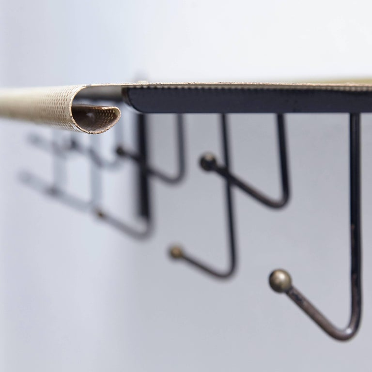 Mathieu Mategot Coat Rack for Artimeta Soest, circa 1940 7