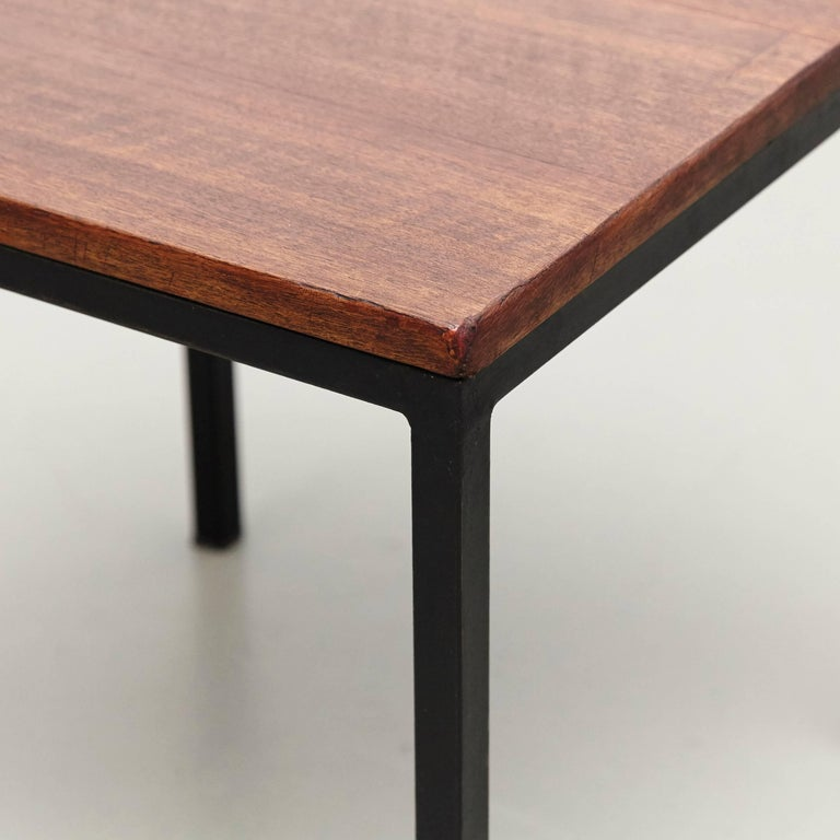 Florence Knoll T-Angle Side Table, circa 1950 In Good Condition For Sale In Barcelona, Barcelona