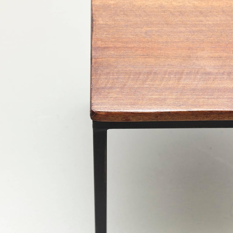 Mid-20th Century Florence Knoll T-Angle Side Table, circa 1950 For Sale