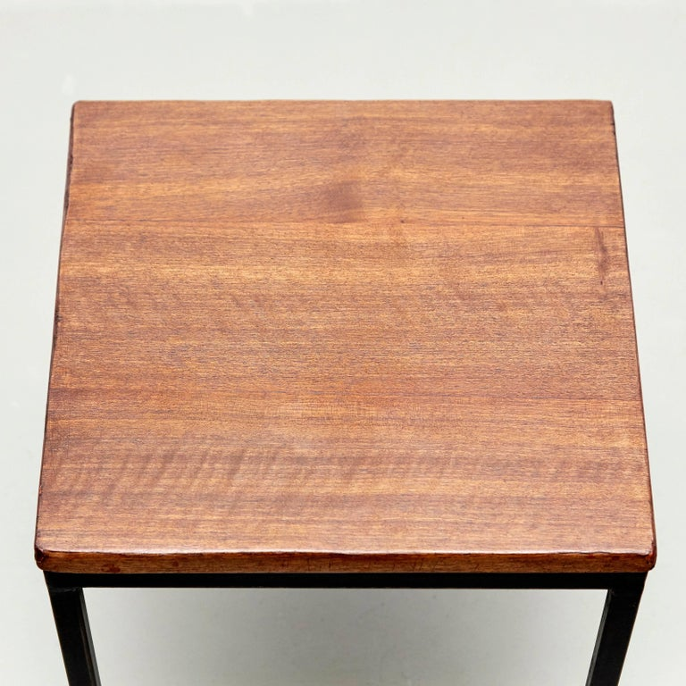 Florence Knoll T-Angle Side Table, circa 1950 For Sale 2