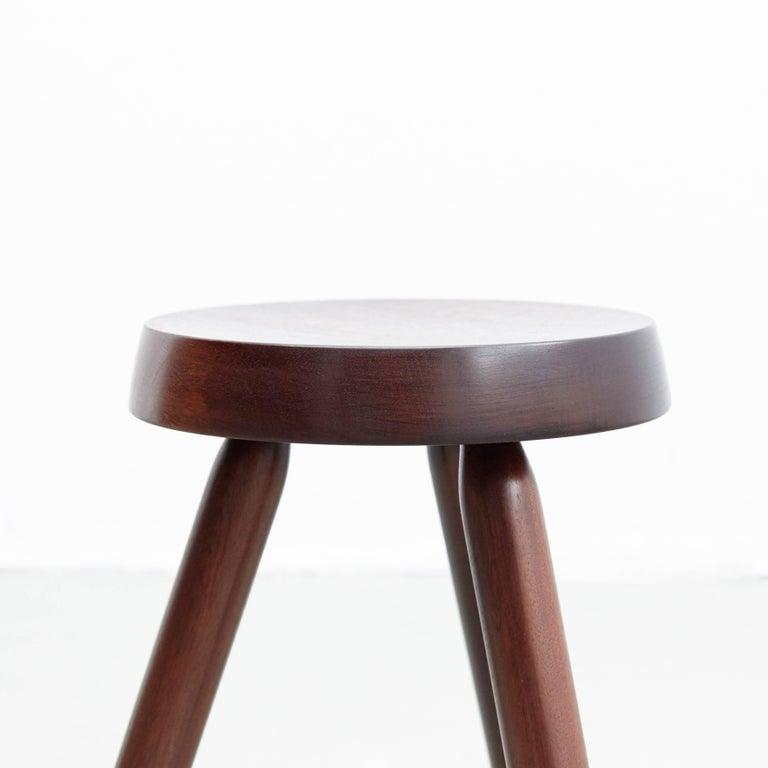 Pair of Stools in the Style of Charlotte Perriand For Sale 1