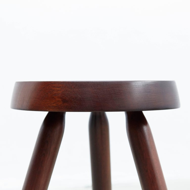 Pair of Stools in the Style of Charlotte Perriand For Sale 2