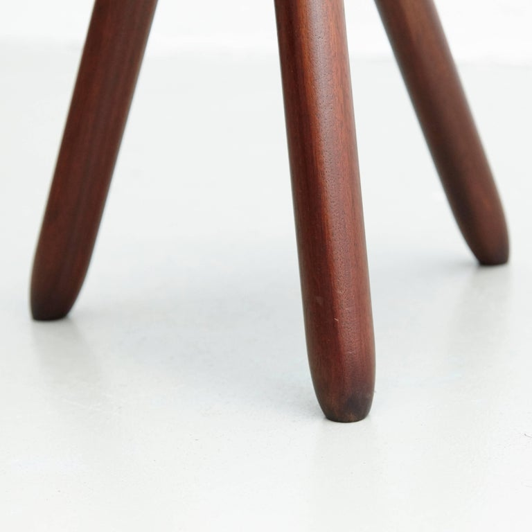 Pair of Stools in the Style of Charlotte Perriand For Sale 4