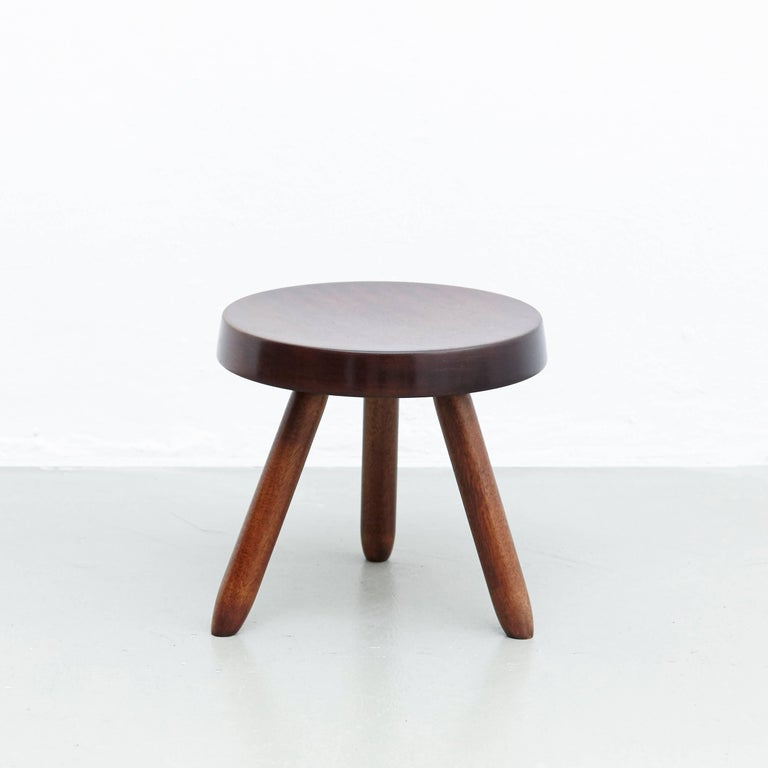 Pair of Stools in the Style of Charlotte Perriand For Sale 6