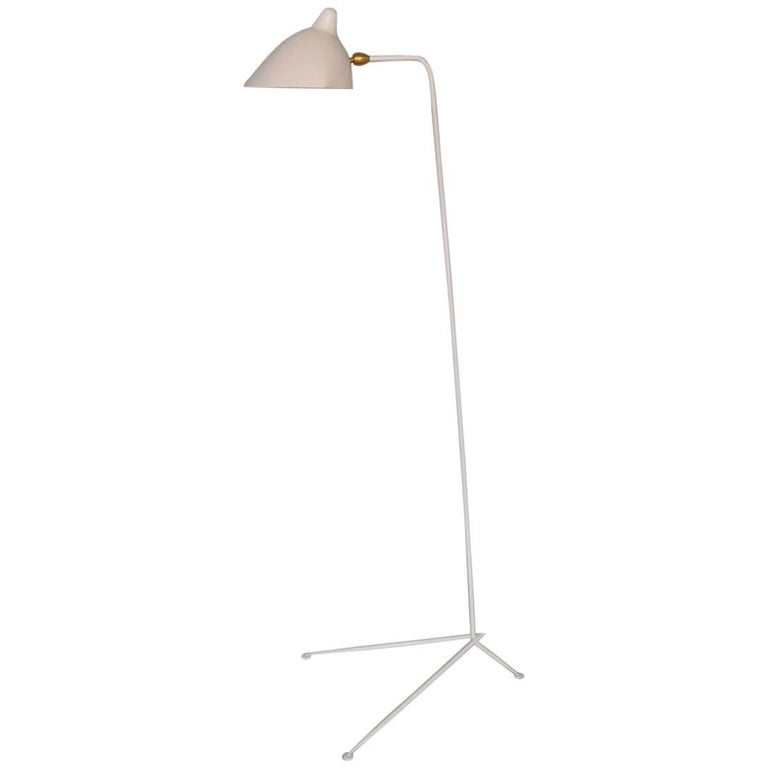 Serge Mouille Standing Lamp One Arm