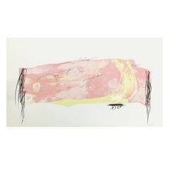 Antoni Tàpies Handcoloured Lithograph, Nocturn Matinal 8, 1970