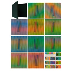 Carlos Cruz-Diez Double Frequency Chromatic Induction, 2013