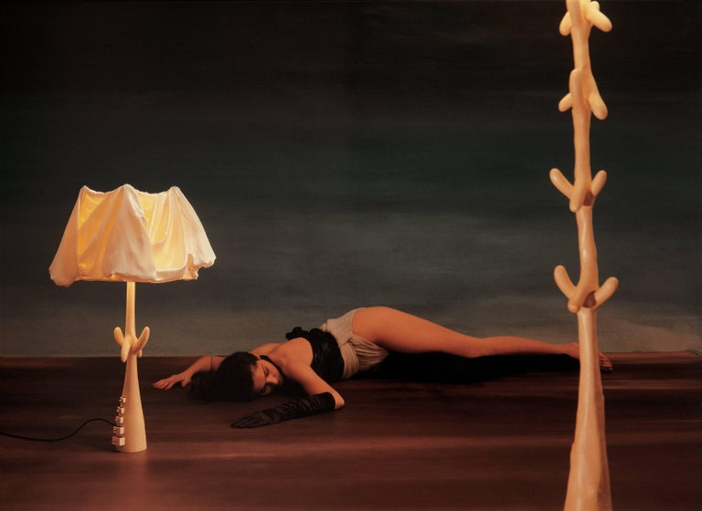 Salvador Dali Muletas Lamp Sculpture In Good Condition For Sale In Barcelona, Barcelona