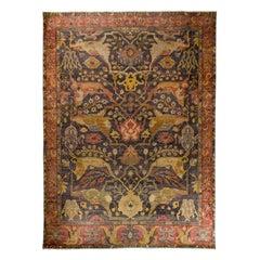 Bidjar Old Style Indian Rug