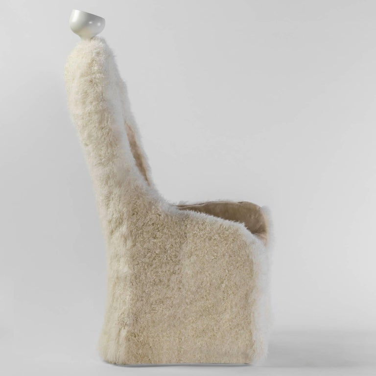 Modern Salvador Dali, Contemporary, Limited Edition 'Invisible Personage' Armchair  For Sale