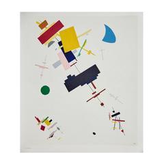 Kazimir Malevich Lithography