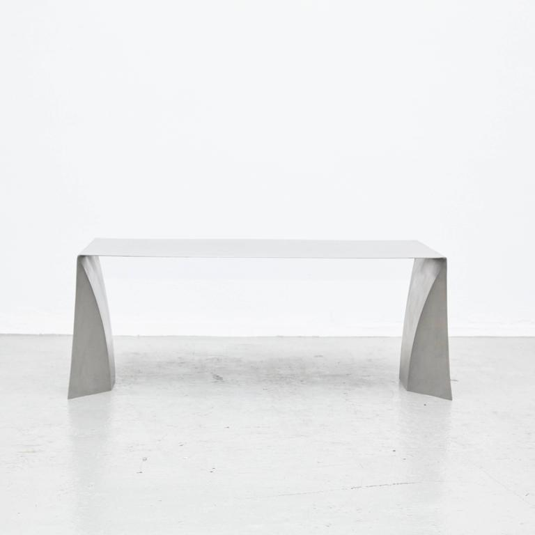 Coffee table designed by Adolfo Abejon manufactured in Barcelona.