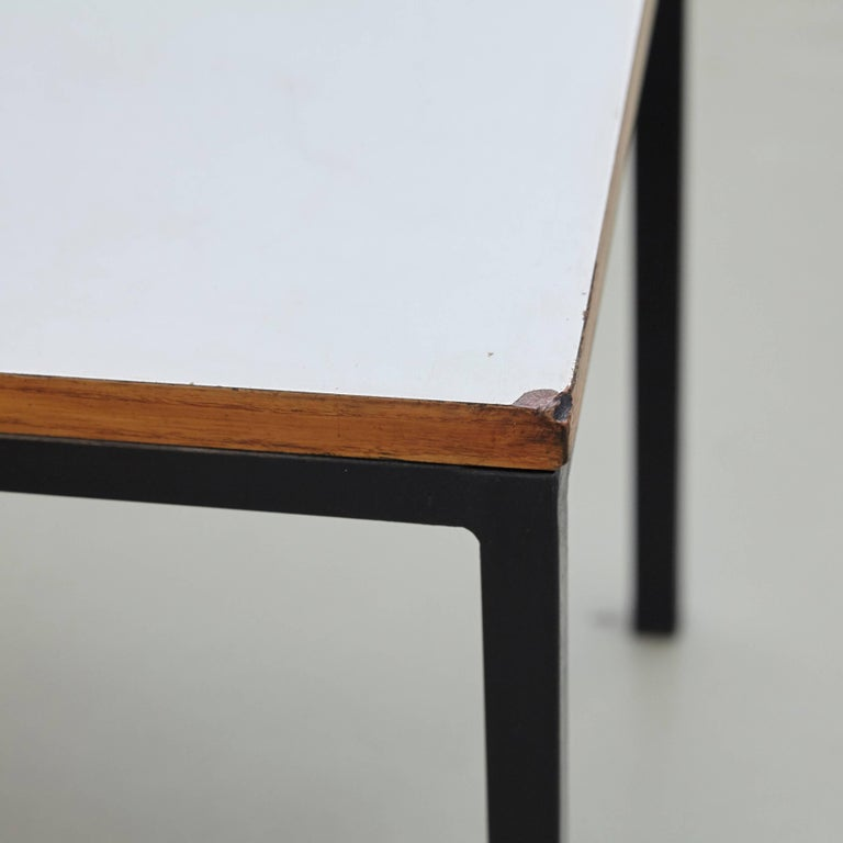 Pair of Florence Knoll T-Angle Side Tables, circa 1950 10