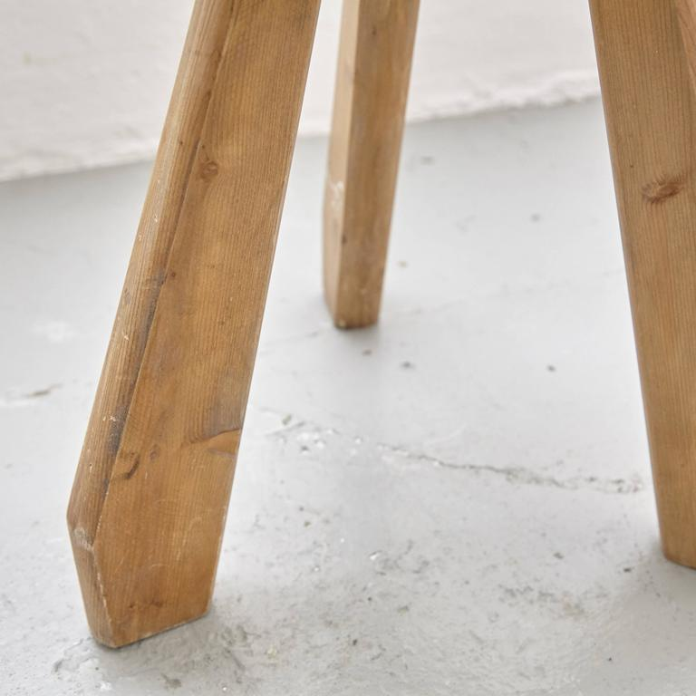 Mid-20th Century Pair of Sandoz Stools by Charlotte Perriand, circa 1960 For Sale