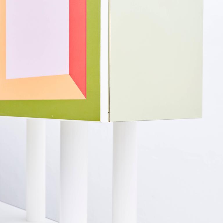 Laminated Ettore Sottsass Piccoli Libri Cabinet, 1992 For Sale