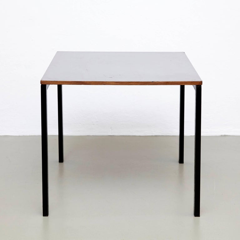 charlotte perriand table circa 1950 for sale at 1stdibs. Black Bedroom Furniture Sets. Home Design Ideas