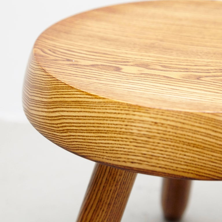 Set Of Three Stool In The Style Of Charlotte Perriand For