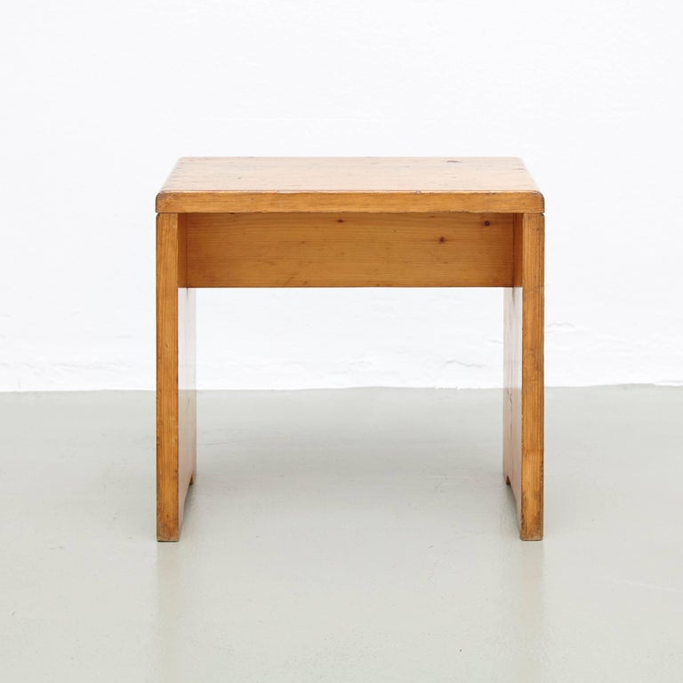 Charlotte Perriand Stool for Les Arcs 2