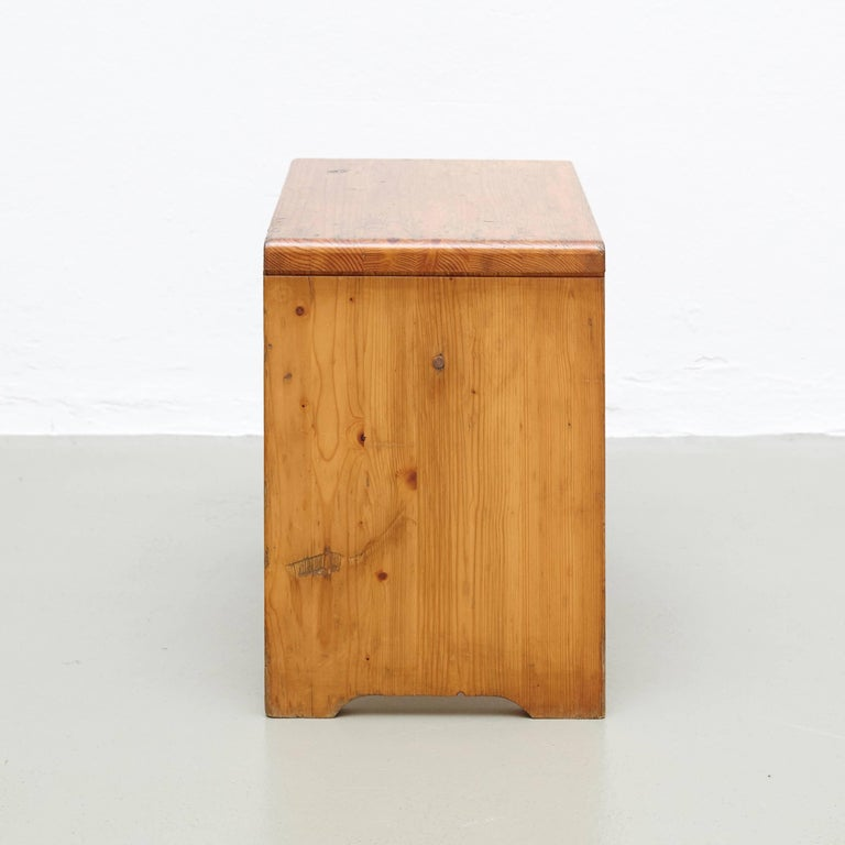 Charlotte Perriand Stool for Les Arcs 3
