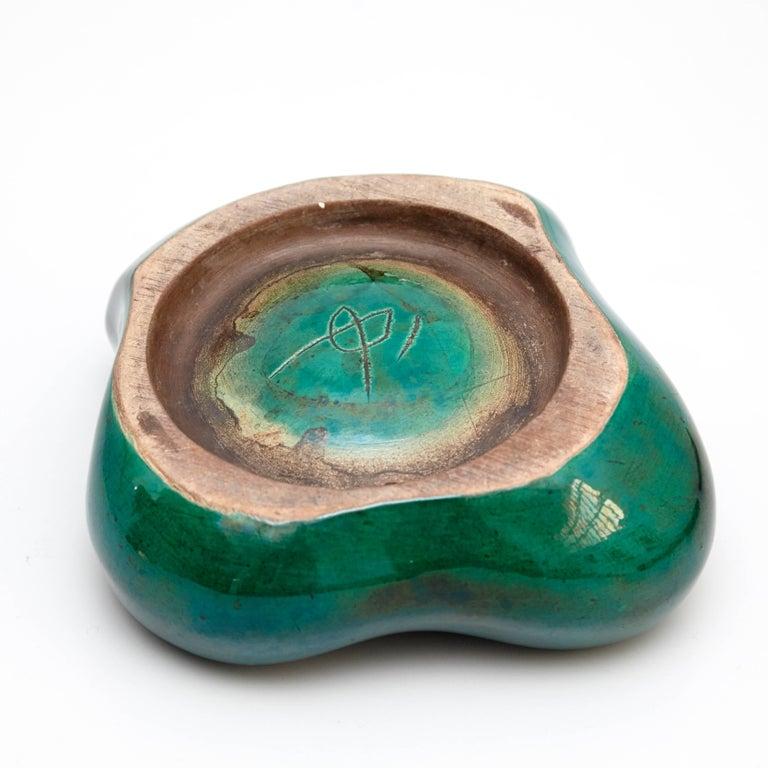 Ceramic Georges Jouve Ashtray, circa 1950 For Sale