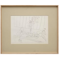 Lithograph after Original Matisse Drawing, 1942