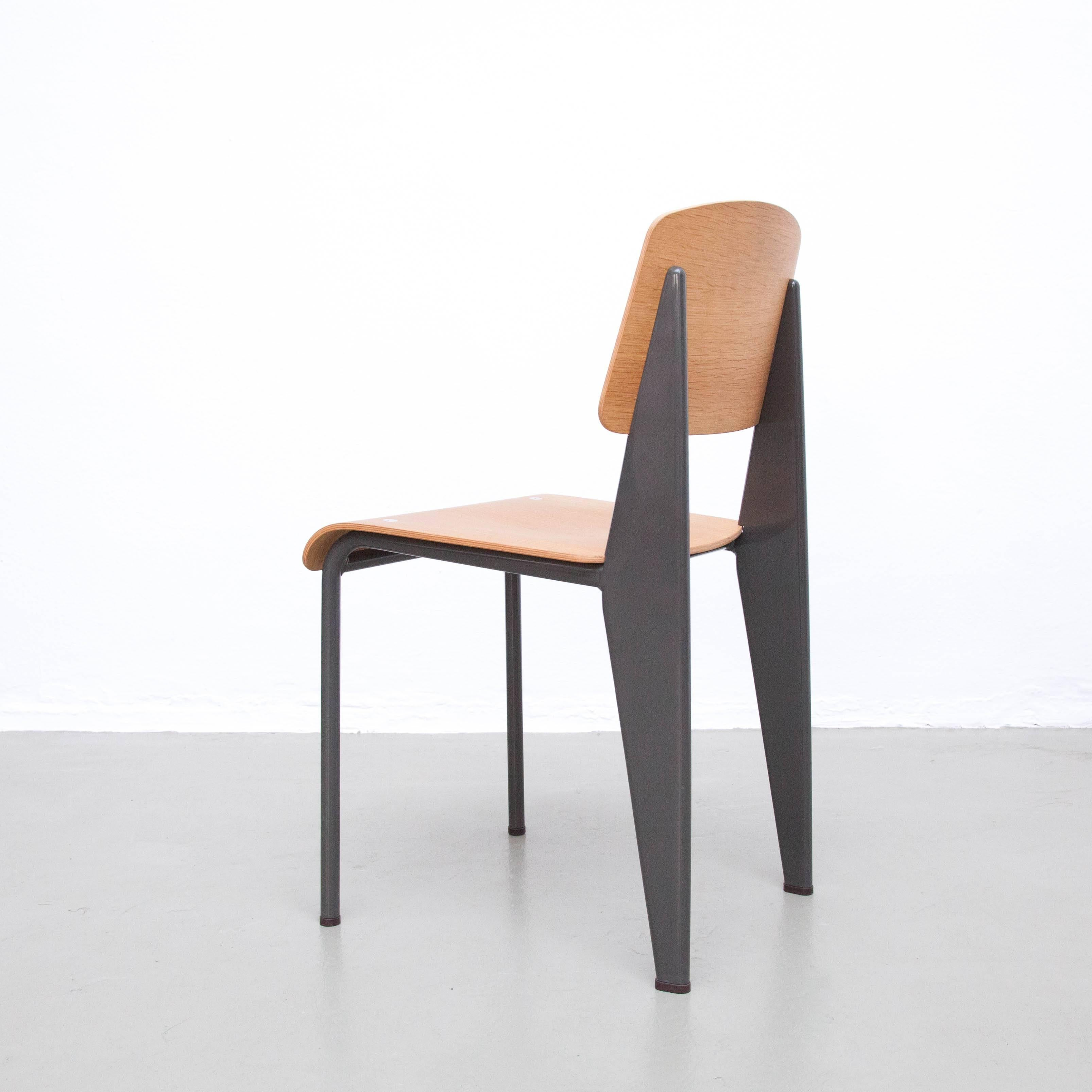 Mid Century Modern Jean Prouve Limited Edition Standard Chair By G Star For  Vitra