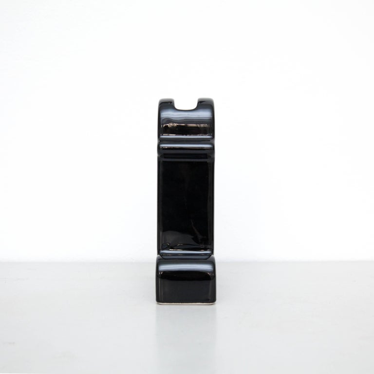 Post-Modern Ettore Sottsass Shiva Limited Edition Black 74/100 For Sale