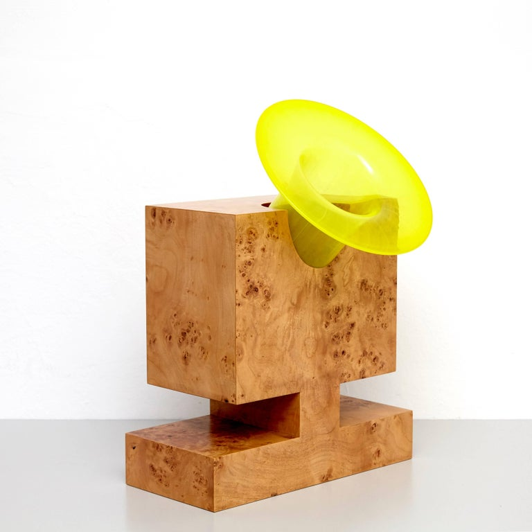 Modern Twenty-Seven Woods for a Chinese Artificial Flower Vase L by Ettore Sottsass