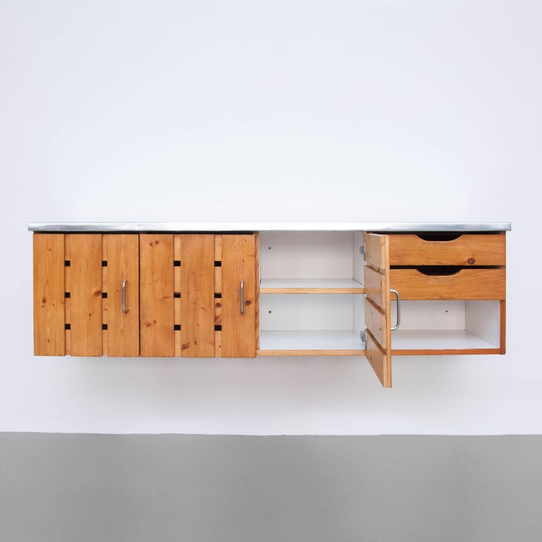 Mid-20th Century Charlotte Perriand Sideboard for Les Arcs, circa 1960 For Sale