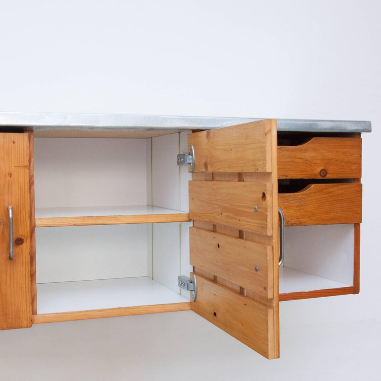 Charlotte Perriand Sideboard for Les Arcs, circa 1960 In Good Condition For Sale In Barcelona, Barcelona