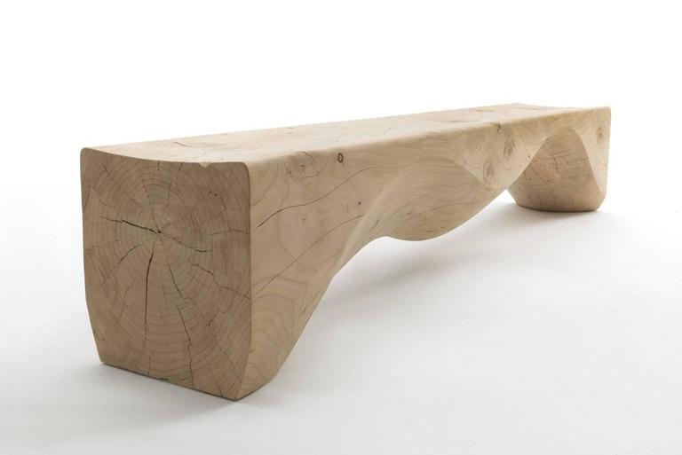 Super Hill Bench In Solid Natural Cedar Wood Spiritservingveterans Wood Chair Design Ideas Spiritservingveteransorg