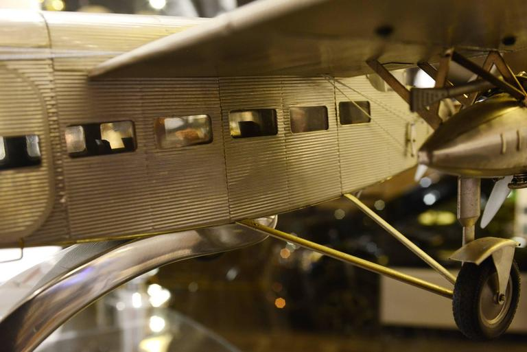 Ford Aircraft Model Trimotor in Aluminium For Sale 1