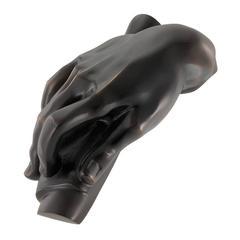 Hand Desk Accessory in Bronze Finish