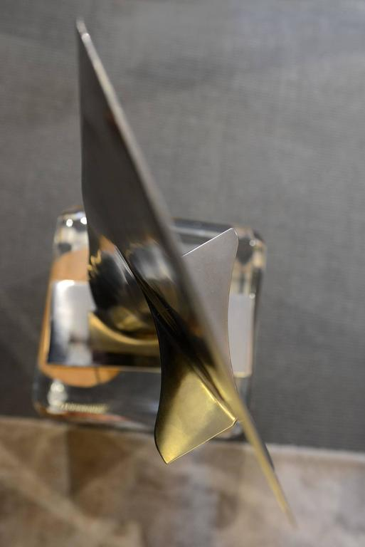 Fin from Boeing 737 in Titanium Exceptional Piece For Sale 3