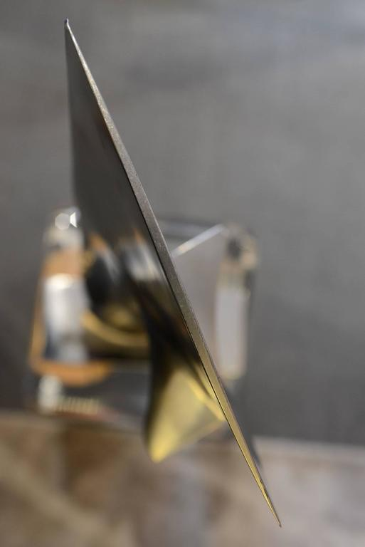 Fin from Boeing 737 in Titanium Exceptional Piece For Sale 2