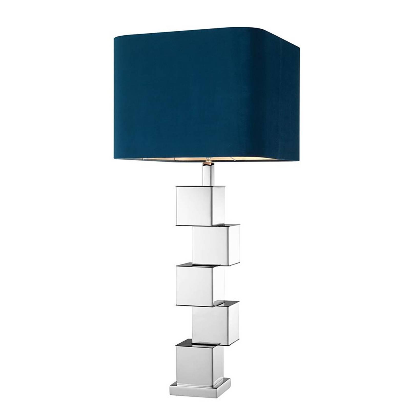 Marina Table Lamp in Nickel Finish