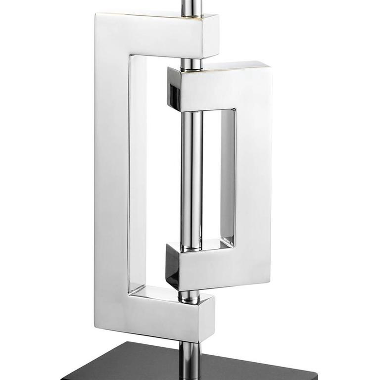 Parts Table Lamp : Folding parts table lamp in polished stainless steel for