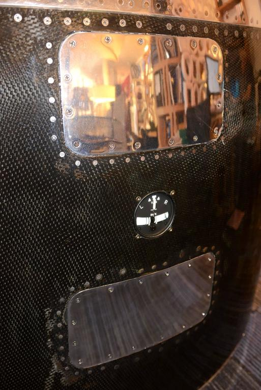 French Aircraft Carbon Desk Pratt & Whitney JT8D Reactor For Sale