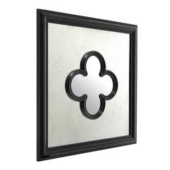 Shamrock Mirror Antique Mirror Glass