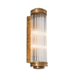 Saragosa L Wall Lamp in Brass or Nickel or Bronze Finish