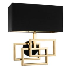 Frames Wall Lamp in Polished Brass or in Nickel Finish