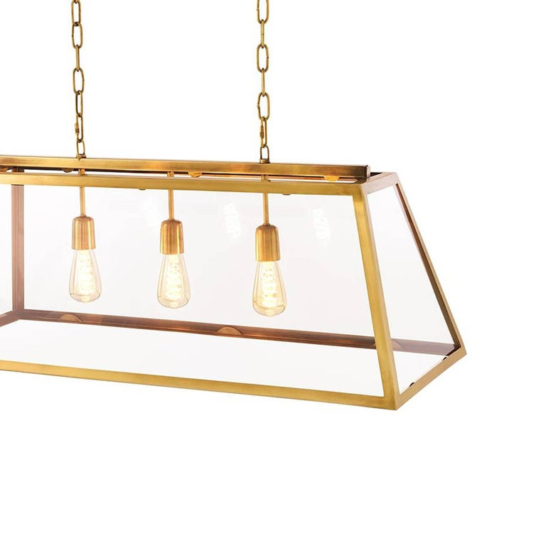 Dome Suspension In Brass Or Zinc Finish For Sale At 1stdibs