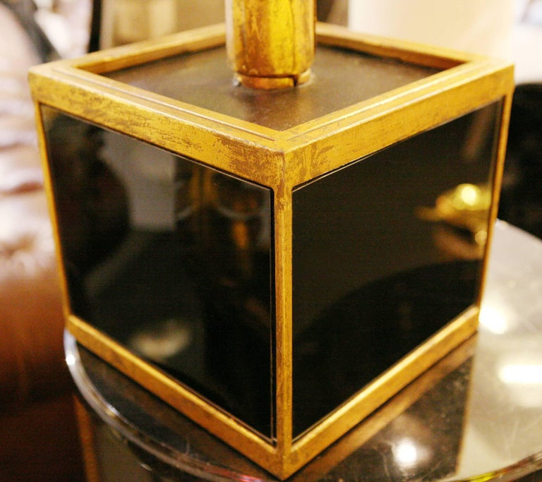 Gilded Palmer Medium Table Lamp in Gold Finish For Sale 3
