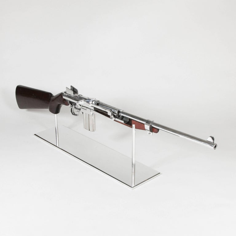 American Art M1 Rifle Demonstration Model 1940 in Polished Finish For Sale