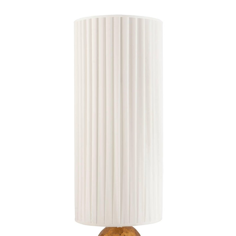 Unknown Turner Table Lamp in Oro Nero Gold Finish For Sale