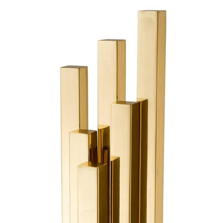 Strada Table Lamp in Gold or Nickel Finish In New Condition For Sale In Paris, FR